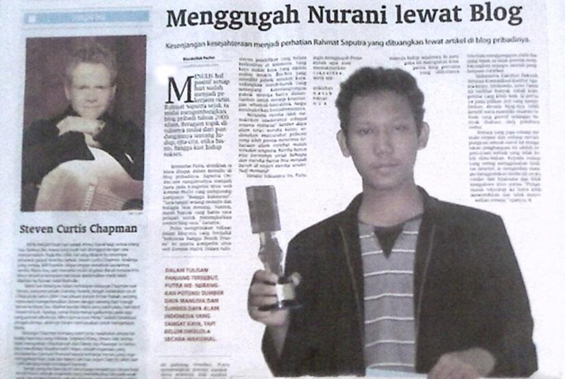 Rahmat Saputra Juara 1 Kompetisi Website Nasional